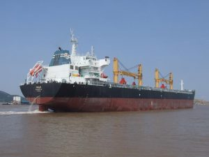 CLOAD Commissioning for One 39000DWT Bulk Carrier 300x225