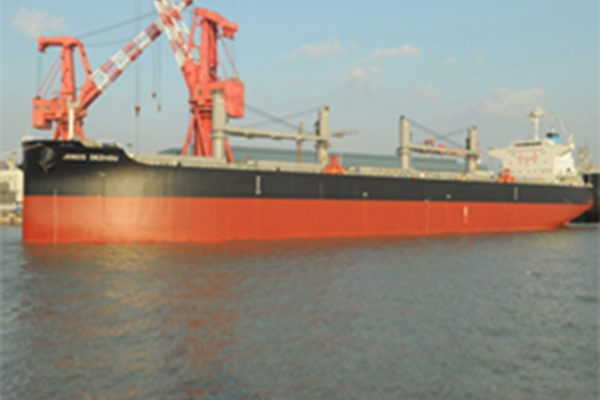 CLOAD Commissioning for One 61000DWT Bulk Carrier 2 600x400