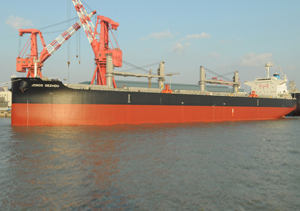 CLOAD Commissioning for One 61000DWT Bulk Carrier