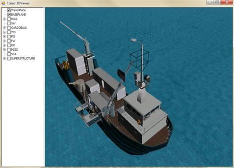 Cload 3D crane module