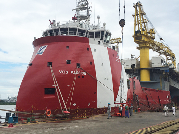 New Functions Developed for PSV vessels 1