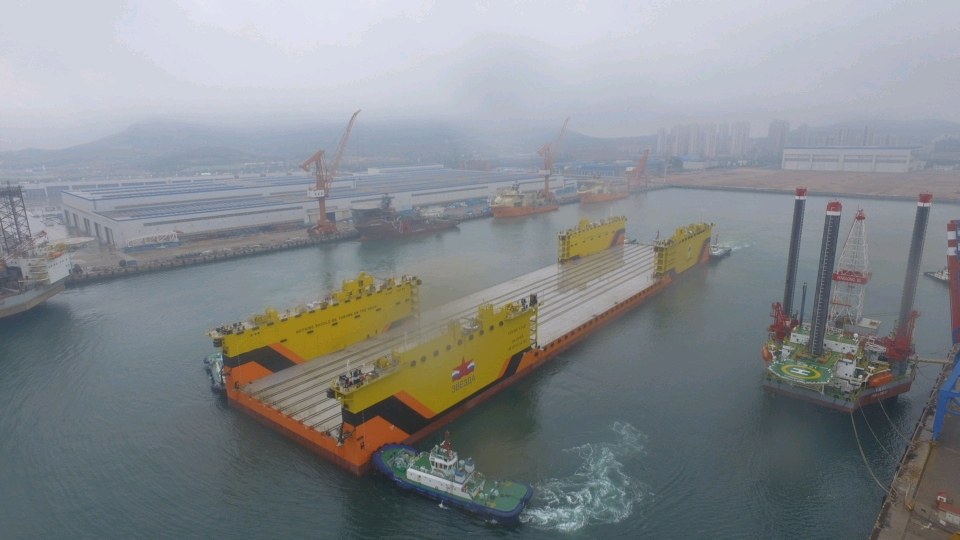CLOAD Commissioning for One 40000DWT floating docker